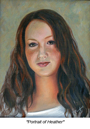 Jennifer Rutherford Portait of Heather MERGED LAYERS