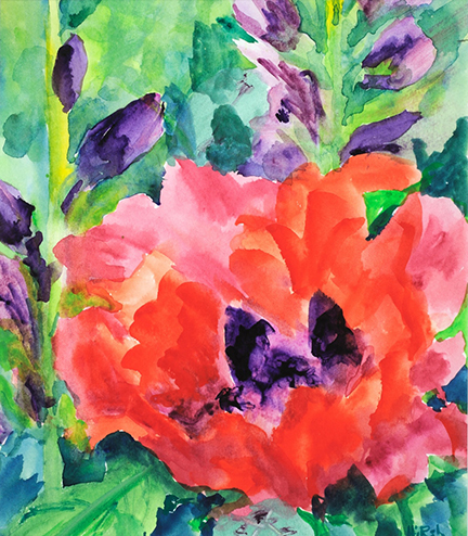 Cathy Hirsh Oriental Poppy 6x7 72 dpi