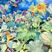 Painting Classes & Workshop Events with Artist Bonny Lundy