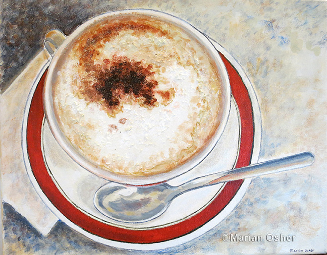Cappuccino by Marian Osher