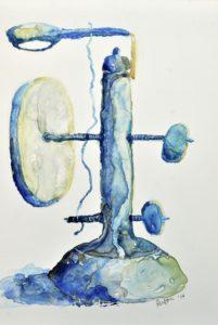 Sue Fierston italian wooden microscope