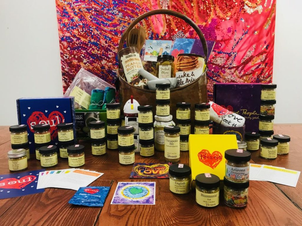 Cooking Gift Basket with Penzeys Spices